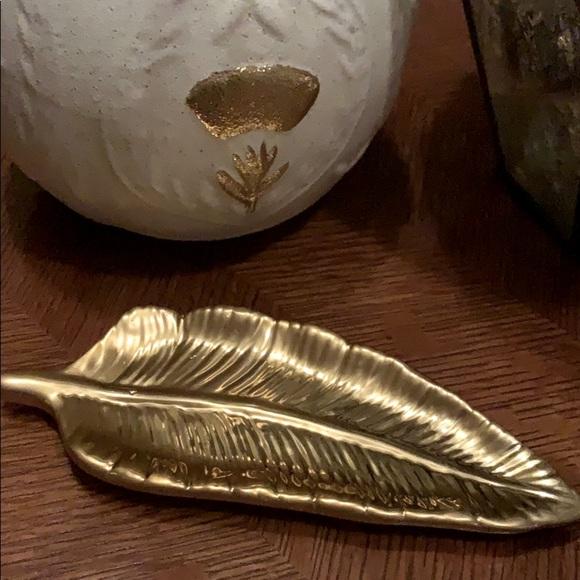 Feather Dish Trinkets, Jewelry